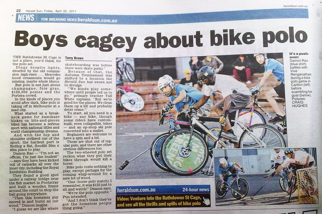 Article from the Herald Sun