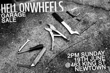 Hell On Wheels - Garage Sale 19-6-11