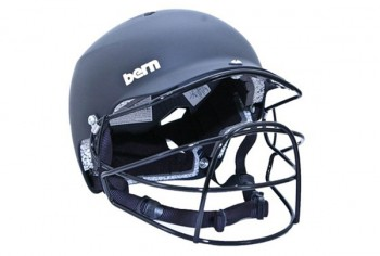 Bern Watts Helmet with cage