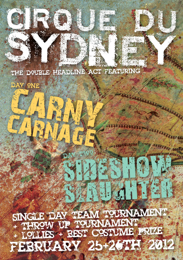 Cirque Du Sydney Poster