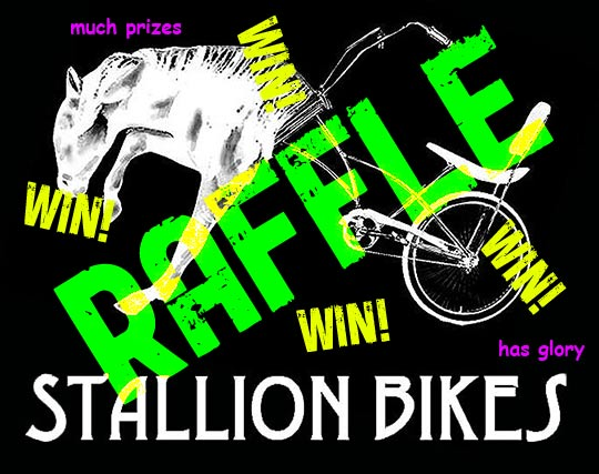 Stallion Bikes Raffle
