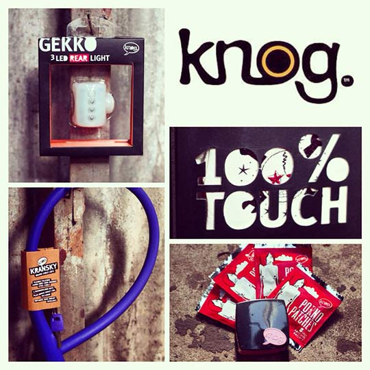 Some of the great products from Knog