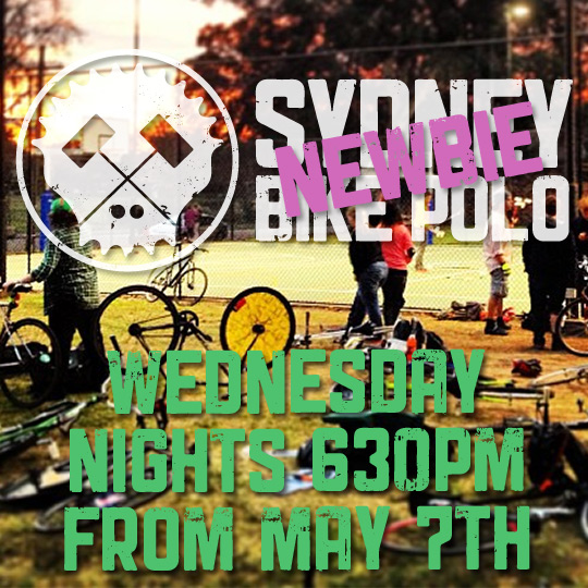 Sydney Newbie Bike Polo Night