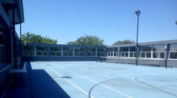 Our new court!